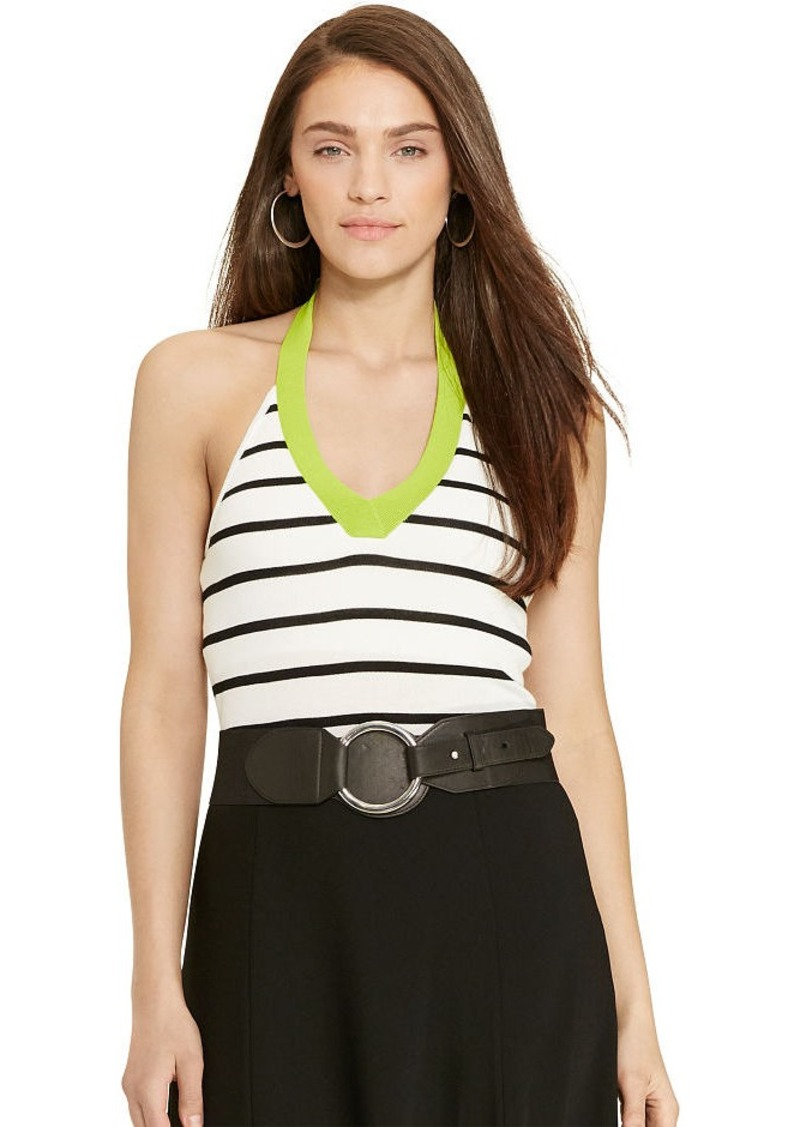 Ralph Lauren Striped Halter Top