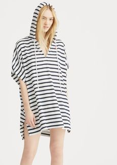 Ralph Lauren Striped Hooded Cover-Up