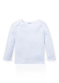 Ralph Lauren Striped Jacquard T-Shirt