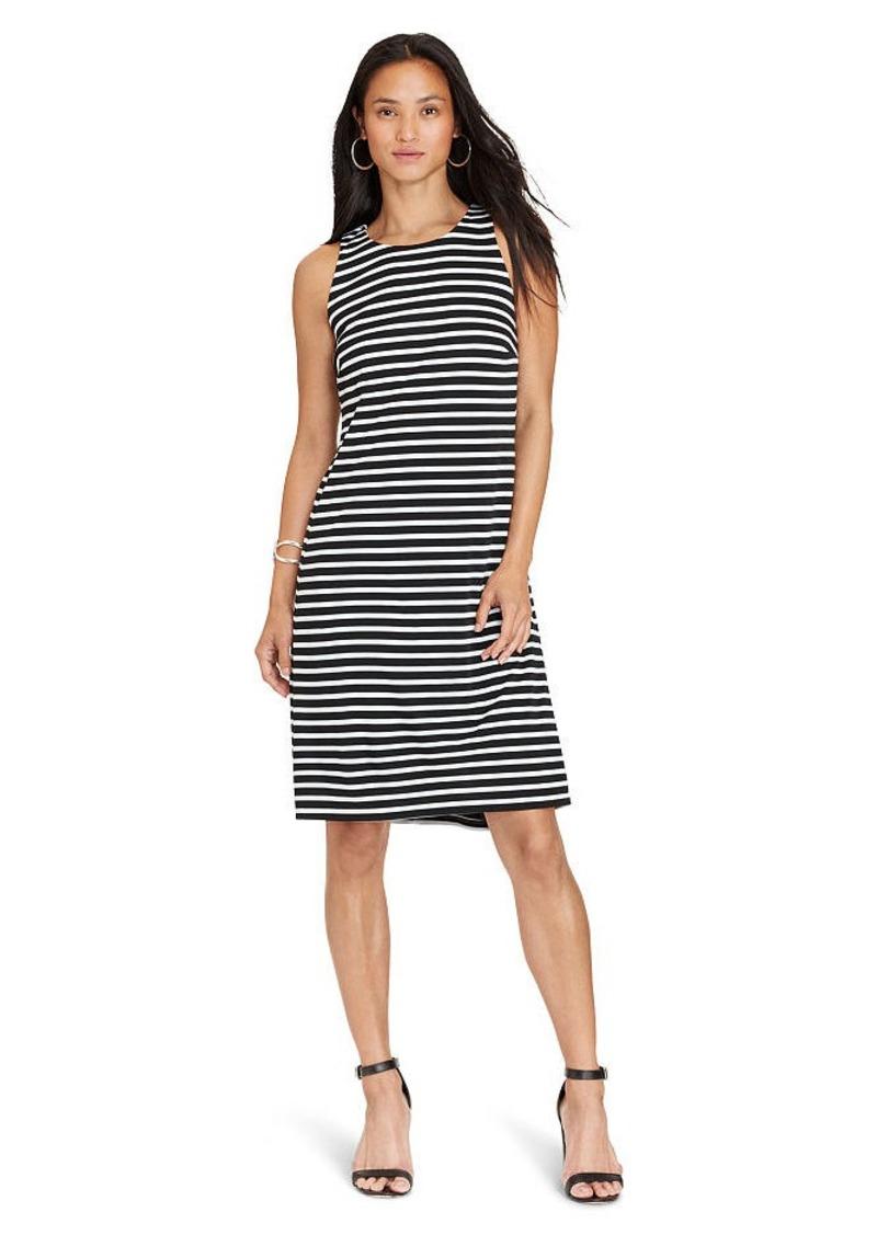 Ralph Lauren Striped Jersey A-Line Dress