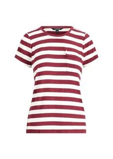 Ralph Lauren Striped Jersey Pocket T-Shirt