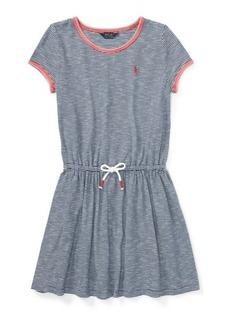 Ralph Lauren Striped Jersey T-Shirt Dress