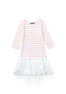 Ralph Lauren Striped Jersey T-Shirt Dress