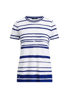 Ralph Lauren Striped Jersey Top