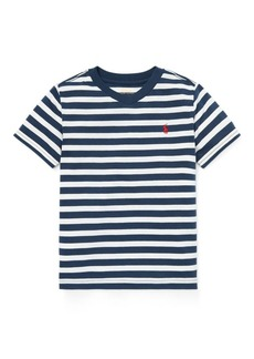 Ralph Lauren Striped Jersey V-Neck T-Shirt