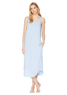 Ralph Lauren Striped Knit Ballet Tank Gown