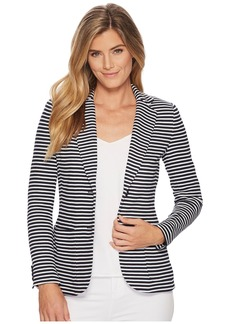 Ralph Lauren Striped Knit Cotton Jacket