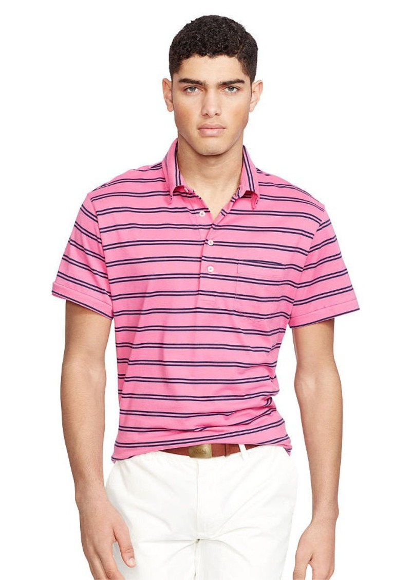 Ralph Lauren Striped Lisle Polo Shirt