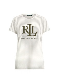 Ralph Lauren Striped Logo T-Shirt
