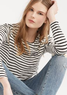 Ralph Lauren Striped Long-Sleeve T-Shirt