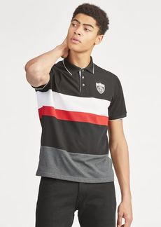 Ralph Lauren Striped Mesh Polo Shirt