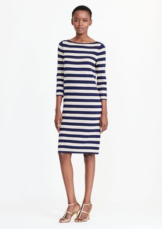 Ralph Lauren Striped Metallic Sweater Dress