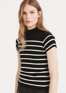 Ralph Lauren Striped Mockneck Sweater