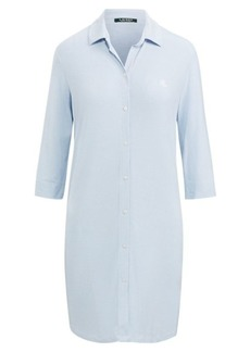 Ralph Lauren Striped Modal Sleep Shirt