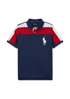 Ralph Lauren Striped Performance Lisle Polo