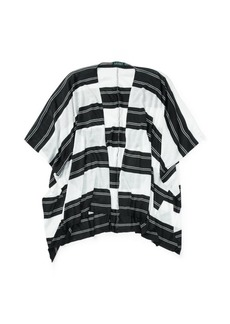 Ralph Lauren Striped Poncho