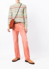 Ralph Lauren striped-print henley T-shirt