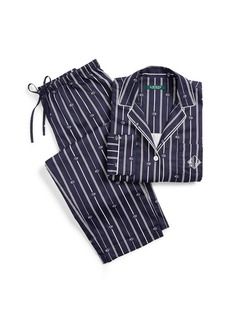 Ralph Lauren Striped Sateen Sleep Set