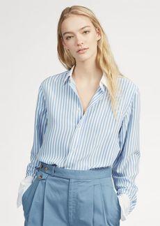 Ralph Lauren Striped Silk Shirt