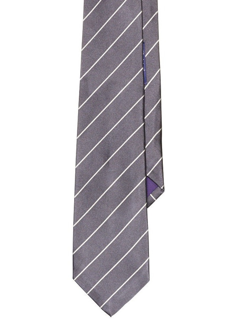 Ralph Lauren aFeoOverrideAttrRead('img', 'src')Striped Silk Satin Tie