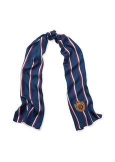Ralph Lauren Striped Silk Scarf
