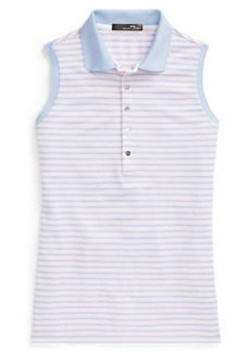 Ralph Lauren Striped Sleeveless Polo Shirt