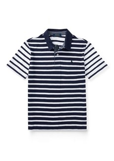 Ralph Lauren Striped Slub Cotton Polo Shirt