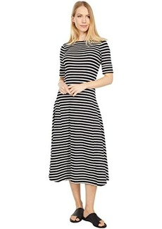 Ralph Lauren Striped Stretch Cotton Maxi Dress