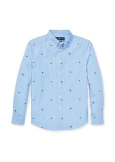 Ralph Lauren Striped Stretch Cotton Shirt