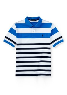 Ralph Lauren Striped Tech Mesh Polo Shirt