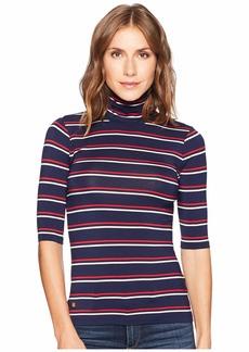 Ralph Lauren Striped Turtleneck Sweater