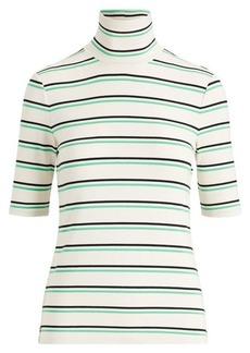 Ralph Lauren Striped Knit Turtleneck