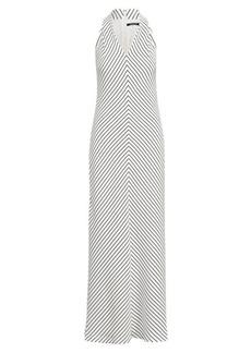 Ralph Lauren Striped V-Neck Dress