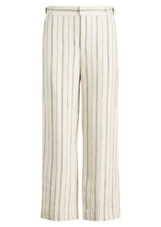 Ralph Lauren Striped Wide-Leg Pant
