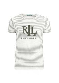 Ralph Lauren Studded-Logo T-Shirt