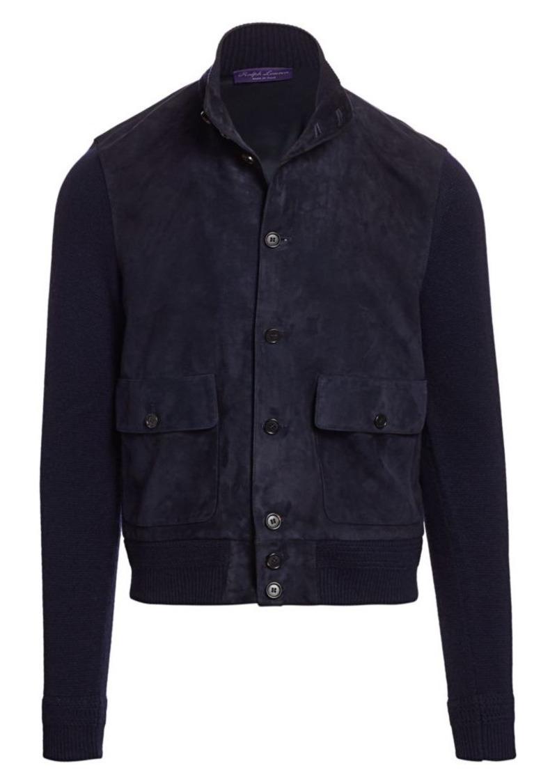 Ralph Lauren Suede & Cashmere Jacket