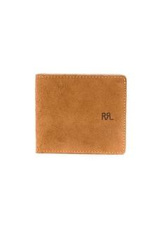 Ralph Lauren suede billfold wallet