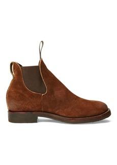 Ralph Lauren Suede Chelsea Boot