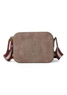 Ralph Lauren Suede Crossbody Bag
