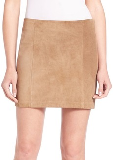 Ralph Lauren Suede Mini Skirt
