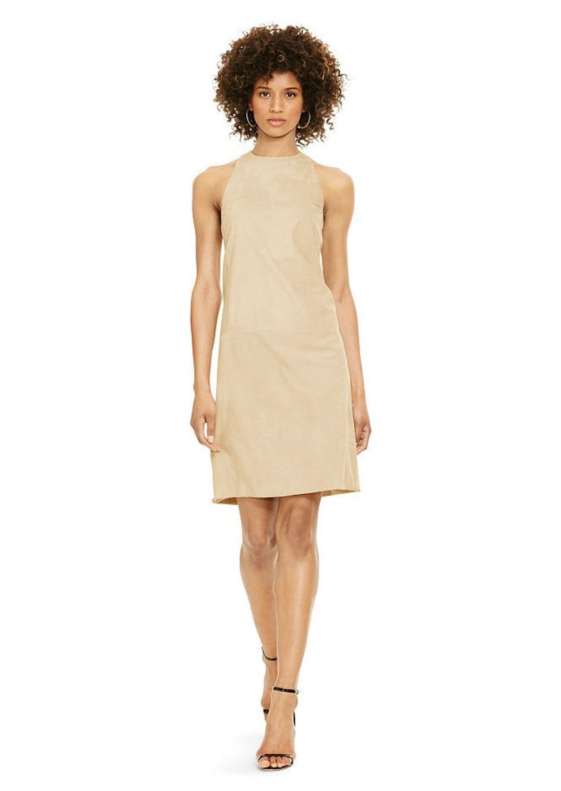 Ralph Lauren Suede Shift Dress