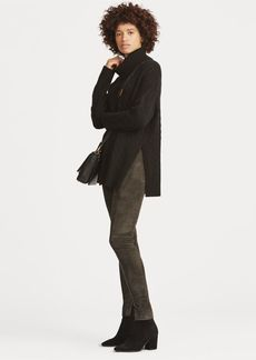 Ralph Lauren Suede Skinny Pant