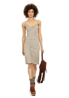 Ralph Lauren Suede Slip Dress