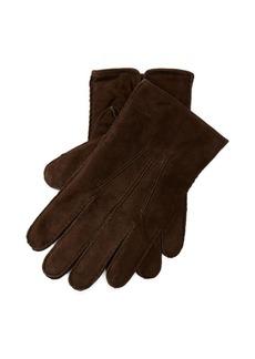 Ralph Lauren Suede Touch Screen Gloves