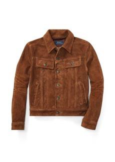 Ralph Lauren Suede Trucker Jacket