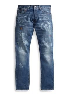 Ralph Lauren Sullivan Slim Graphic Jean