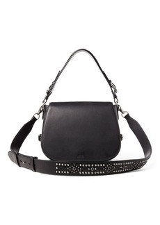 Ralph Lauren Sullivan Studded Saddle Bag
