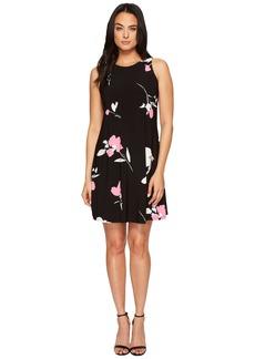 Ralph Lauren Suzan Brunette Park Floral Dress