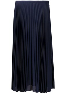 Ralph Lauren Suzu A-line pleated skirt