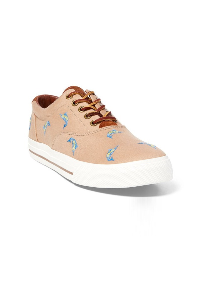 Ralph Lauren Swordfish Canvas Sneaker